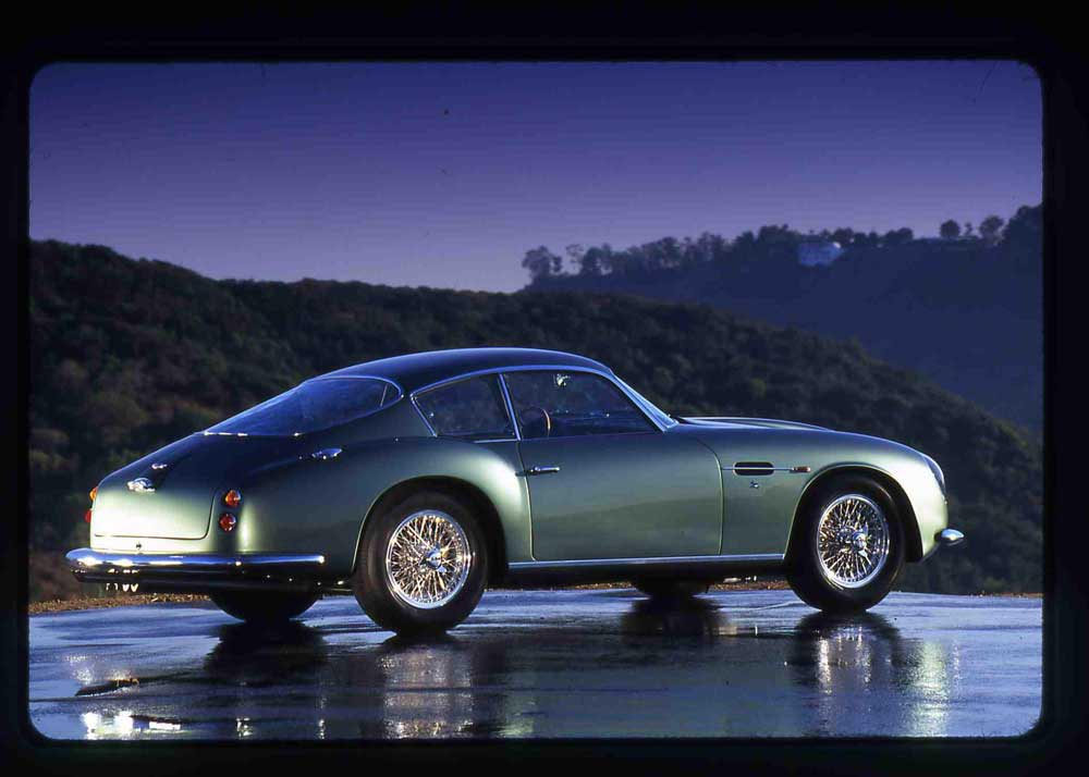 DB4 GT Zagato with Copper Nickel Brake Line